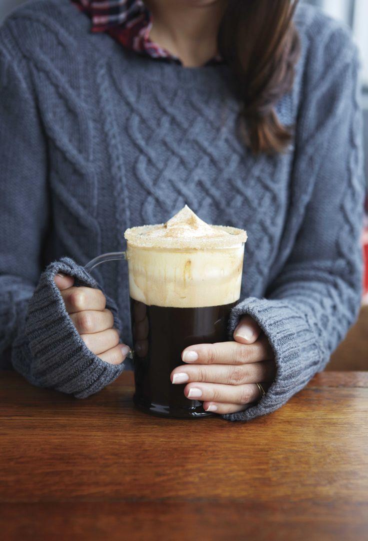 Le café chaleureux. L'ingrédient clé: la #liqueur de café! Douceur hivernale! #hiver