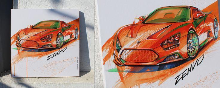Zenvo St-1by Ilya Avakov  #art #acrylic #artpeople #artsociety #paint #painting #paintingoftheday #drawingskills #drawingoftheday #brushes #ilyaavakov #zenvots1 #zenvoautomobile #zenvocar #autoart #automotive  #automotiveart #artavakov #avakov #artcar #handrawing #drawings #paint #sketch #sketchcar #carpainting #carart #paperdrawing #society6 #zenvo #designsketch