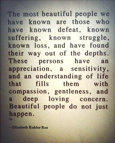 Elizabeth K. Ros: Elizabeth Kubler Ross, Sotrue, Menu, Well Said, So True, Favorite Quotes, Beautiful People, Inspiration Quotes, True Beautiful