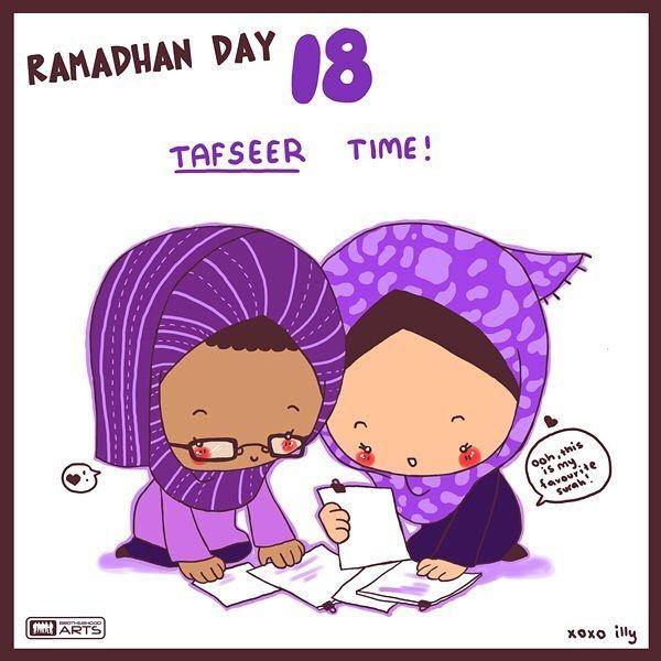 {#Ramadan - jour 18} Lisez le #tafsir (exégèse du Coran). Et apprenez.