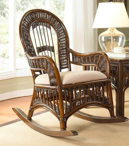 ... Rocking Chair  chairs  Pinterest  Rocking chairs, Rattan and Wicker