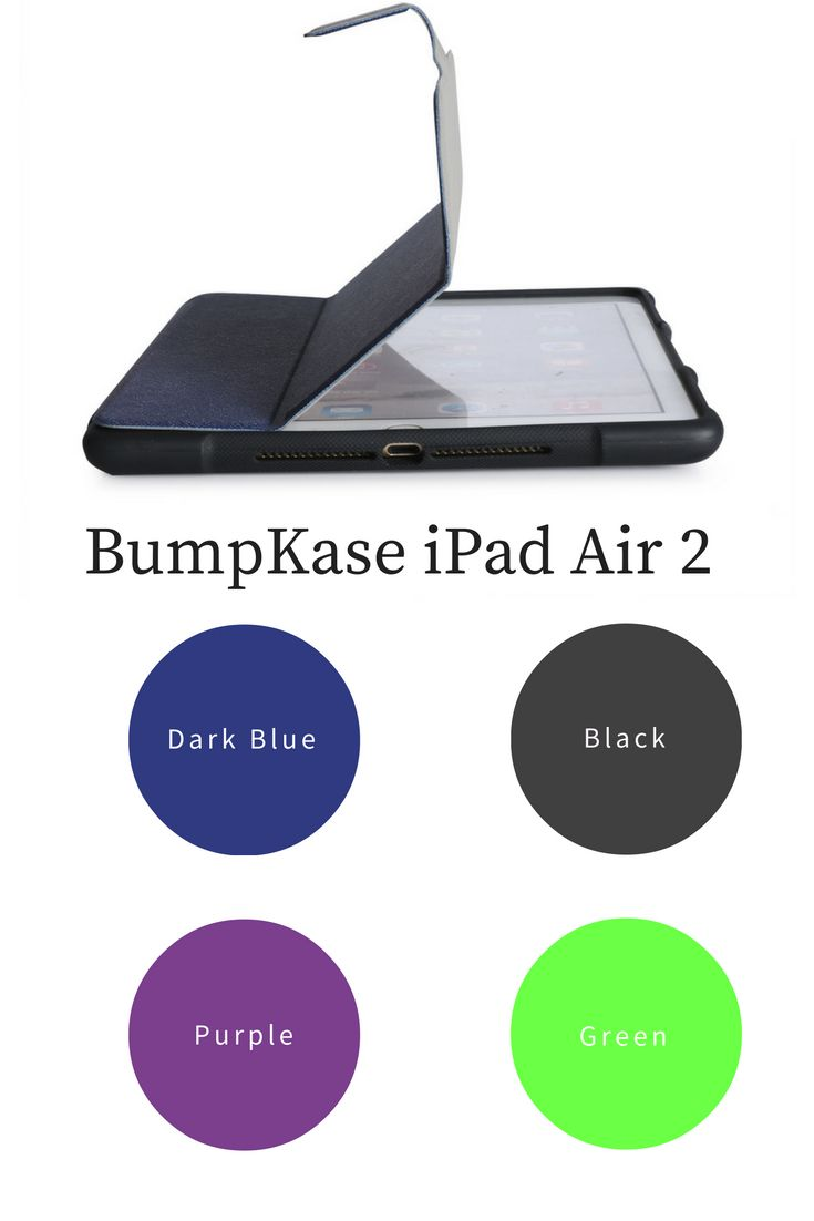What Color would you choose?? The Bestselling BumpKase is available with a discount this holiday season : Use the PROMO code : HAPPY2017 for 30% off iPad Air 2 and iPad Mini 4
