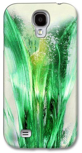 Lily Of Life Galaxy S4 Case Printed with Fine Art spray painting image Lily Of Life by Nandor Molnar (When you visit the Shop, change the orientation, background color and image size as you wish)