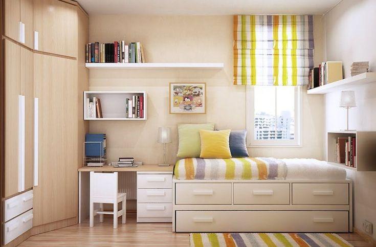 Mobila pentru dormitoare mici - tineti spatiul sub control