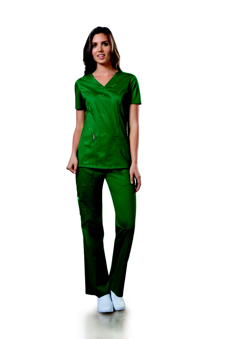 #ScrubsMagGiveaway  Love the ID scrubs...I worked very hard to get MY RN and very proud  of it (went through a divorce and buried a sister while in school). LOVE LOVE LOVE THE GREEN!!
