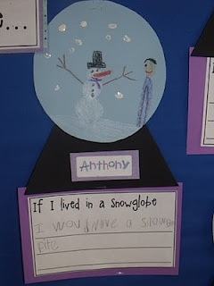 Mrs Jump's class: Snowman Fun! Another snow globe idea based on The