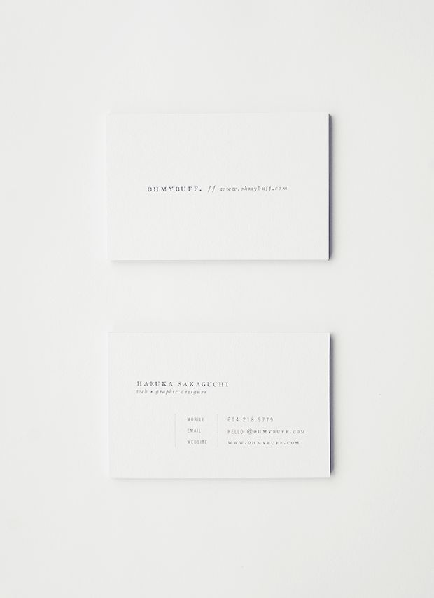 branding, white, business cards, typography, minimal: