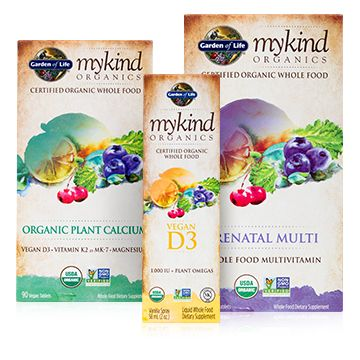 mykind Organics multis are like no other. They're Certified USDA Organic, Non-GMO Project Verified, and made from Clean, Real, Nutritious Whole Foods.