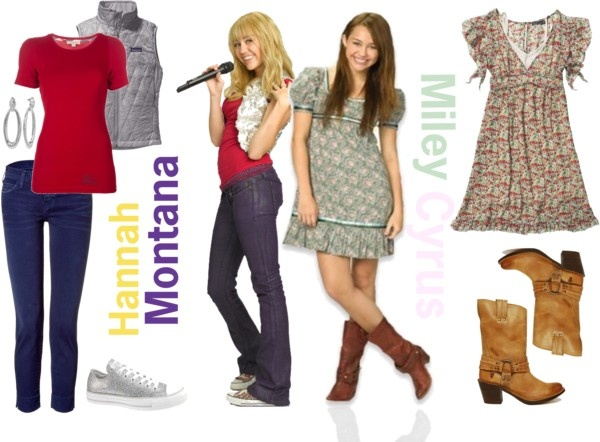 Hannah Montana & Miley Stewart (Hannah Montana:The Movie) Inspired Outfits