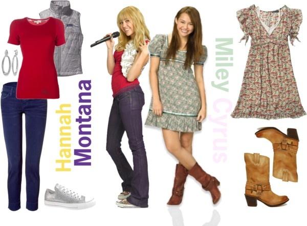 Hannah Montana & Miley Stewart (Hannah Montana:The Movie) Inspired Outfits