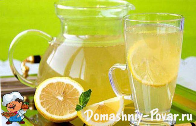 Вкусный домашний лимонад