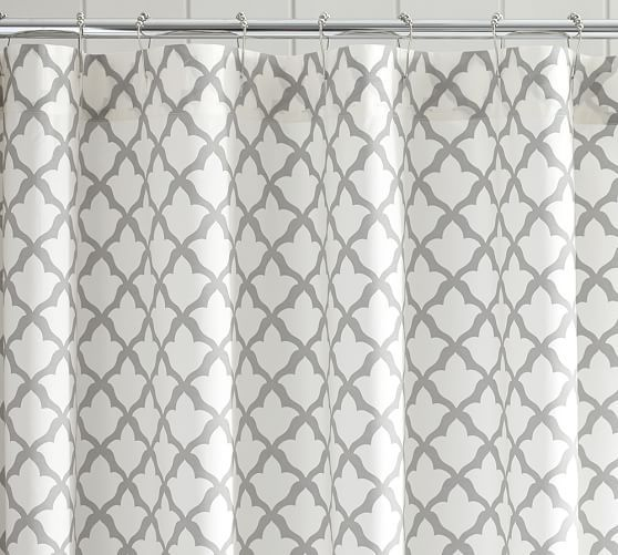 Marlo Shower Curtain Pottery Barn Guest Bathroom Some Place To Call Home Pinterest