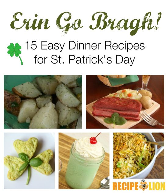 24 best images about general international on pinterest find this pin and more on general international erin go bragh 15 easy dinner recipes forumfinder Choice Image