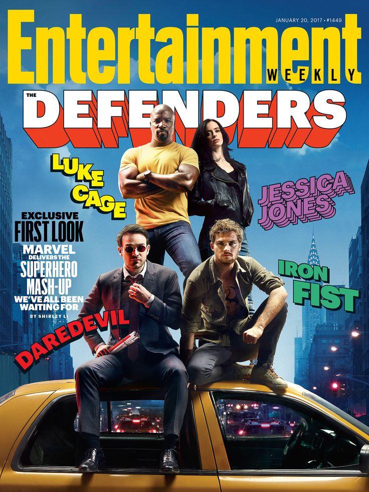 Os Defensores   Heróis se unem em bastidores de ensaio para revista; assista   Notícia   Omelete