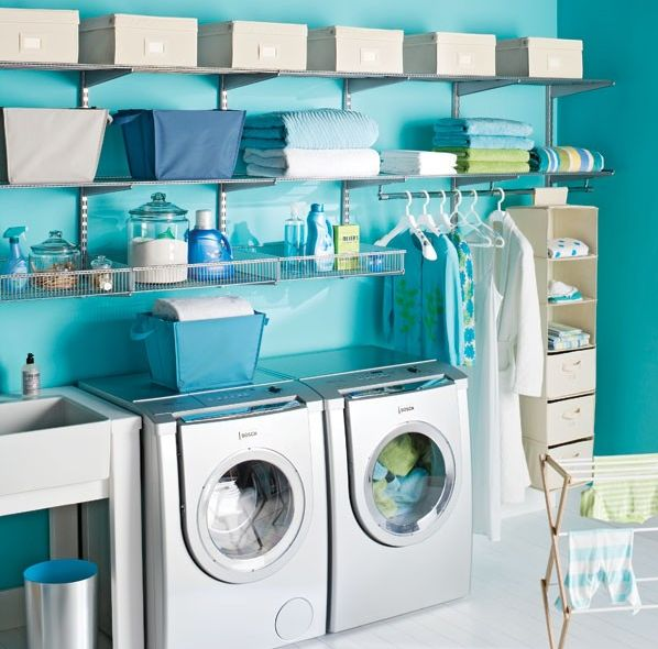 DecRenew Interiors Blog: Happy and colorful laundry rooms