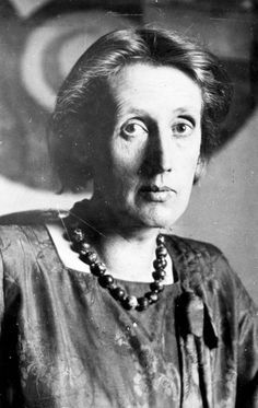 Virginia Woolf (English, 1882-1941) at Monk's House, Sussex, date unknown