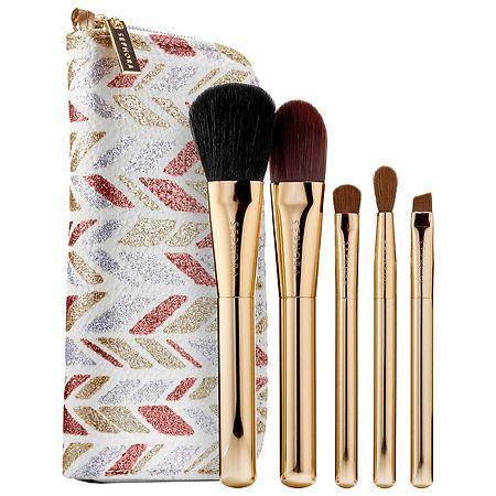 sephora collection  sparkle  shine skinny brush set