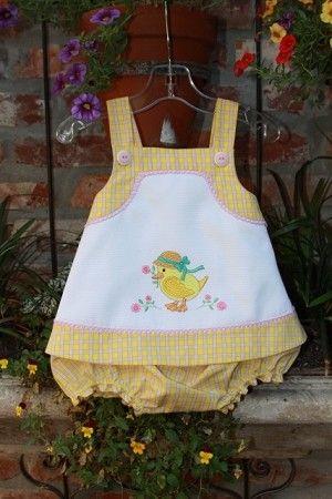 """So cute. Children's Corner """"Callie"""" w """"Frannie"""" bloomers."""