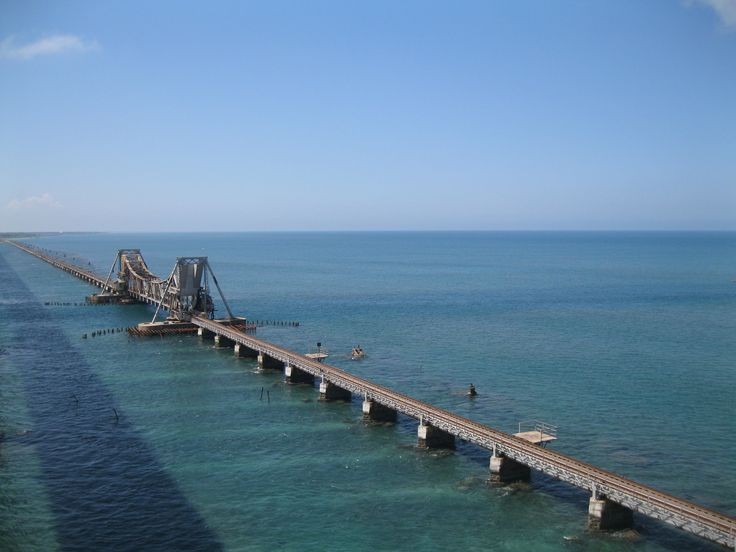 Pamban Bridge near Rameswaram: For more info: http://rameswaramtourism.com/