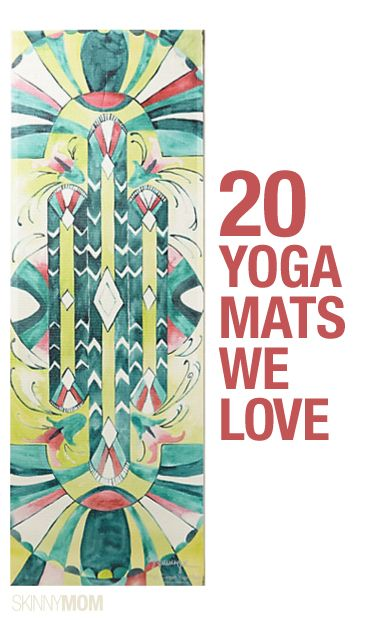 Find your zen with one of these 20 super-stylish yoga mats!