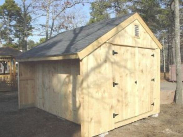 Salt Box Shed Design Salt Box Shed With Firewoodcubby With Saltbox Roof Shedplans Shed Plans Free Shed Plans Garden Shed Diy
