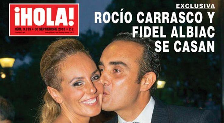 Rocío Carrasco y Fidel Albiac, se casan - http://www.bezzia.com/rocio-carrasco-y-fidel-albiac-se-casan/
