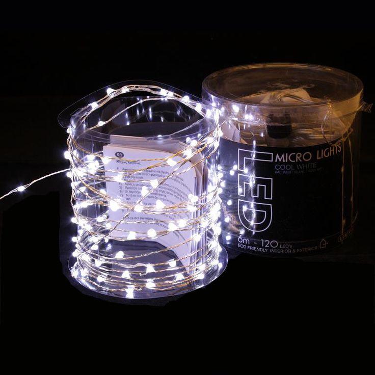 M s de 25 ideas incre bles sobre luces de cortina en - Tiras led navidad ...