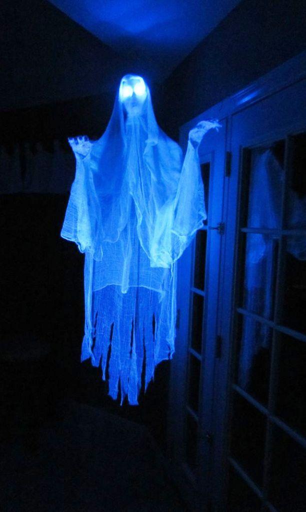 Ghost Halloween Haunted House Ideas