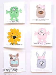 Ideas For Giving Away Door Prizes tags for door prizes baby shower yahoo image search results Playful Pals From Stampin Up Tracy May Door Prize Draw