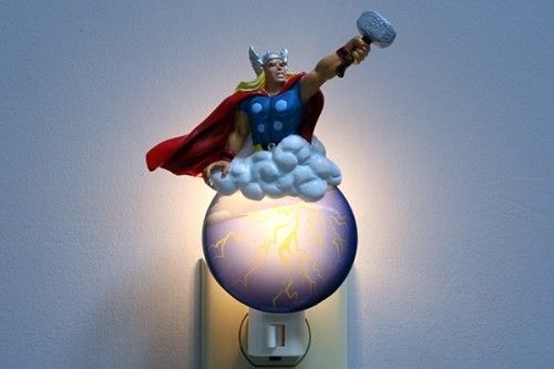 Cosmically awesome Thor night light.