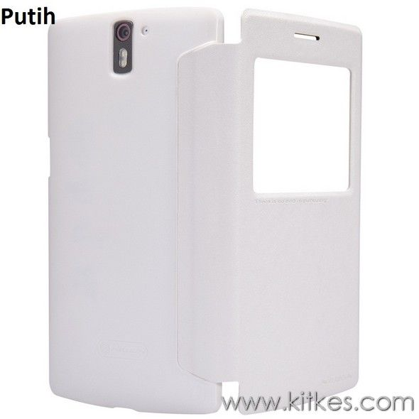 Nillkin Sparkle Leather Case OnePlus One - Rp 135.000 - kitkes.com