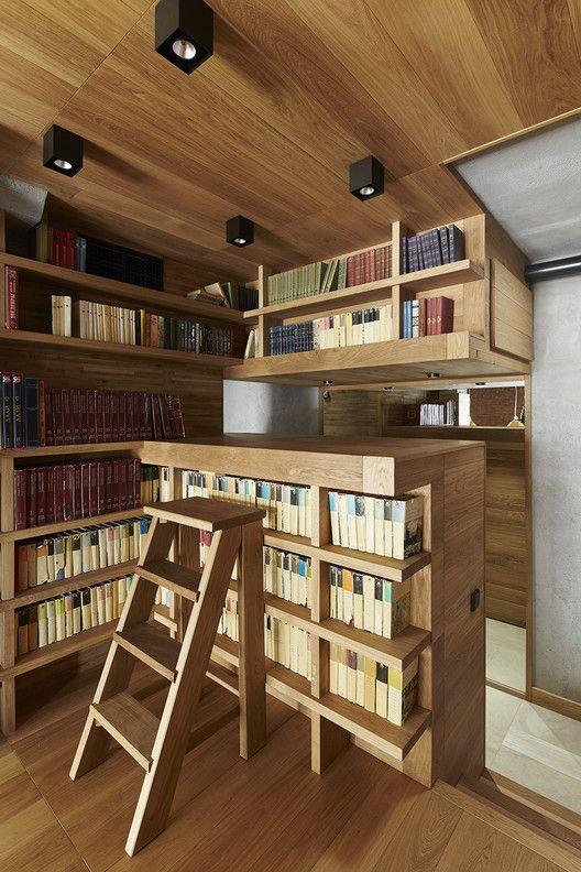 57 Drawers / Alexey Rozenberg. Wood InteriorsArchi ...