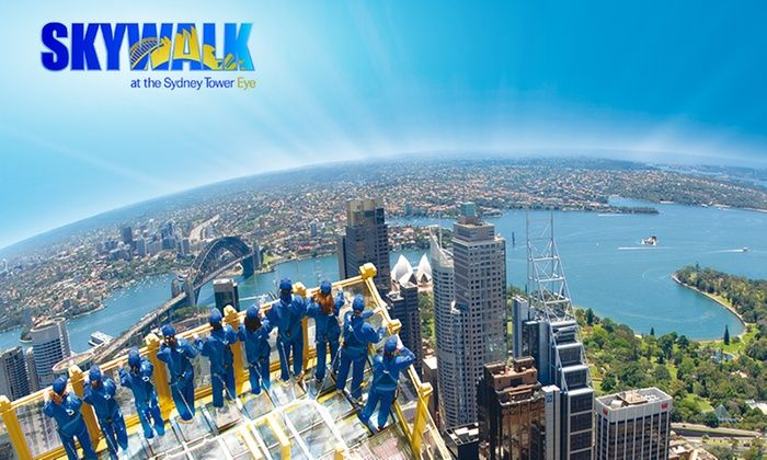 Centrepoint Tower Skywalk, Sydney NSW