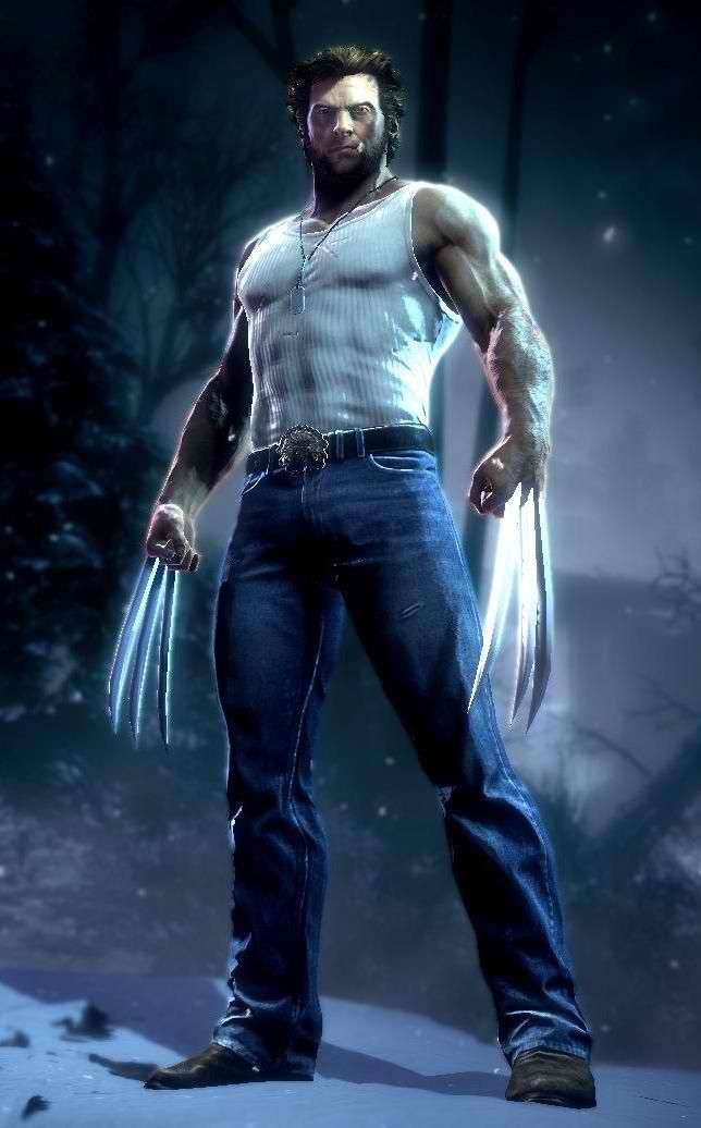 Wolverine is a huge jacked man. Okay really bad joke aside this pic reminds me of the movies and a great actor.