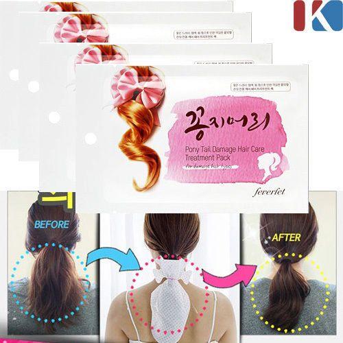 4PCS-DAMAGED-HAIR-CARE-Ponytail-Treatment-Pack-Home-Salon-Korean-Cosmetics