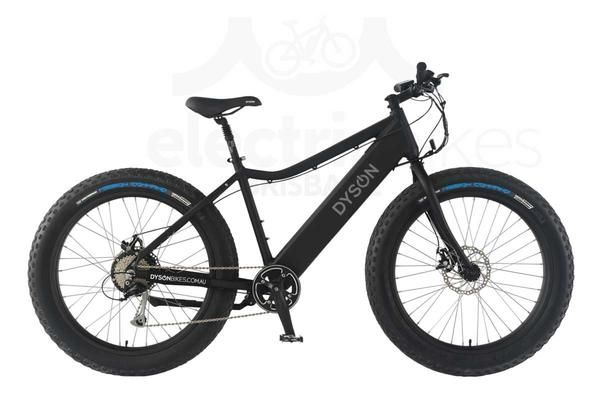 The Dyson Thredbo electric bike is an excellent and affordable fat ebike. With its oversize 4-inch tyres and well matched components, this electric fatty is