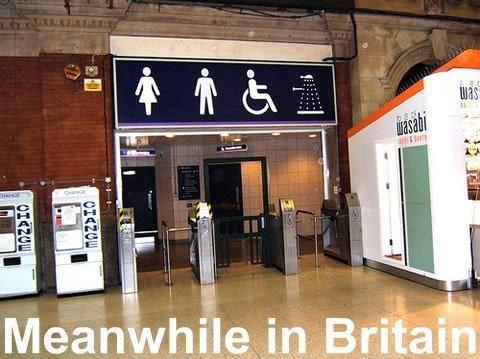 ImpressedNerd, God, British, Doctors Who, Shower, Bathroom, Entrance, Country, Britain