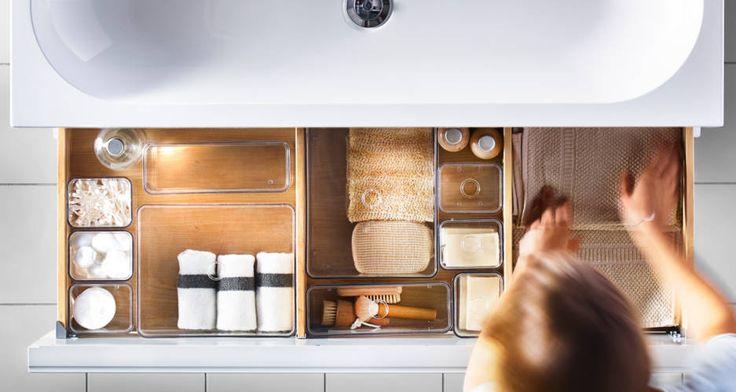 IKEA Catalog 2015 Godmorgon. Bathroom set of 5 boxes with lid