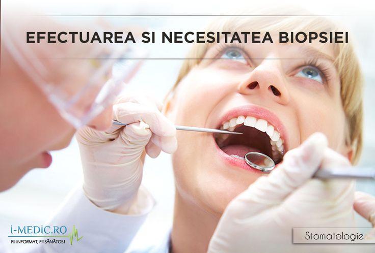 Biopsia este recomandata pentru stabilirea naturii unei leziuni. Indiferent daca medicul stomatolog va opta pentru prelevarea unei mostre de tesut sau extirparea intregii leziuni, tesutul prelevat va fi trimis la un laborator specializat. http://www.i-medic.ro/stomatologie/efectuarea-si-necesitatea-biopsiei