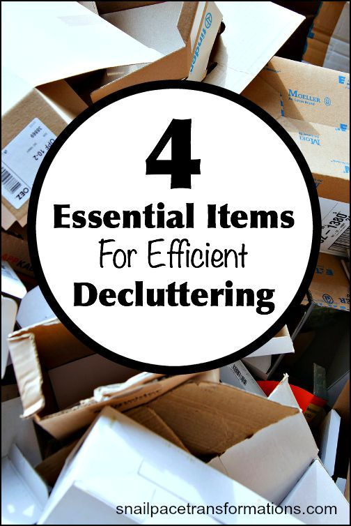 If you want your decluttering sessions to go as fast as possible so you can get on to achieving a clutter free home then you are going to want to make sure you have these supplies on hand before you start.