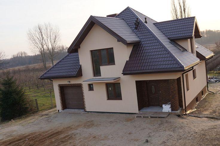 Projekt domu gwiazda realizacja #projekt #dom #budowa