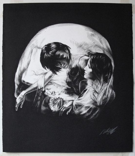 Skull No1 by **Tom French**, via Flickr