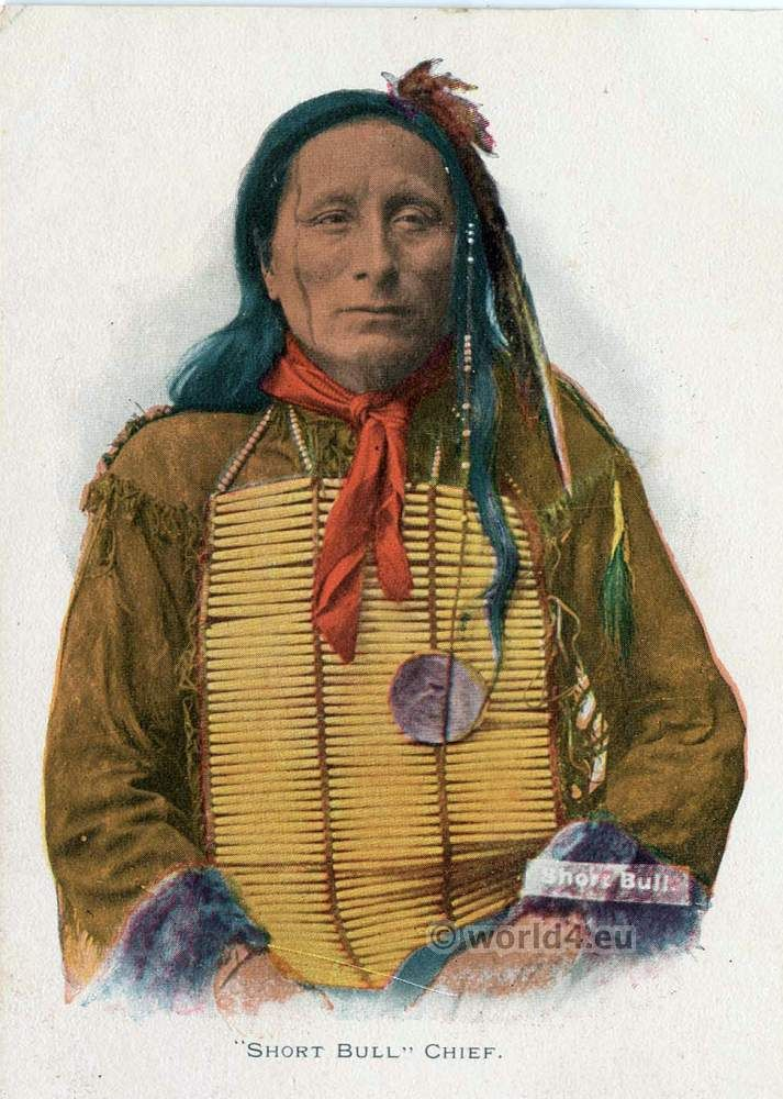 Short Bull, Chief of Brule Lakota, Sioux tribe. Native