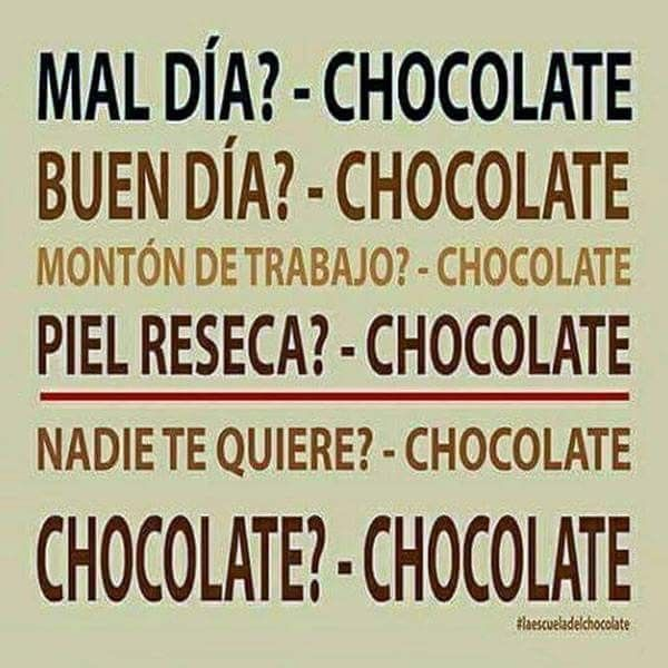 Para Todo Chocolate Citas De Chocolate Frases