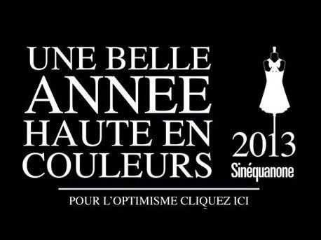 Sinequanone Collezione 2013
