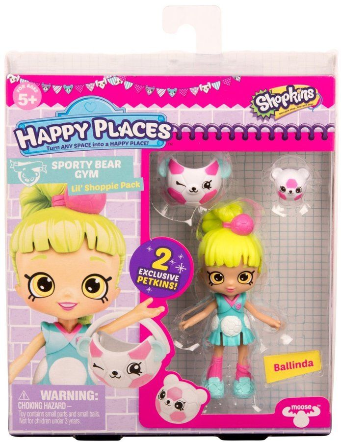 Happy Places Shopkins Season 3 Doll Single Pack Ballinda