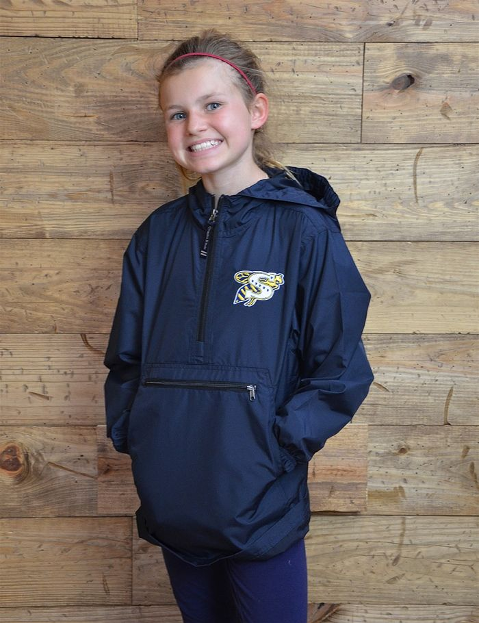 Keep your kiddo protected from the rain and in jacket gear Go SHS