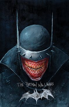 The Batman Who Laughs - Nat Jones - I don't have a board for this but I love him!