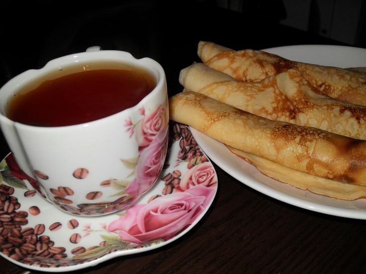 Russian Pancakes (Blini)