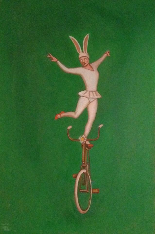 Equilibrio / Balance by Liberto. #gastonliberto #generosdepunta #watercolour